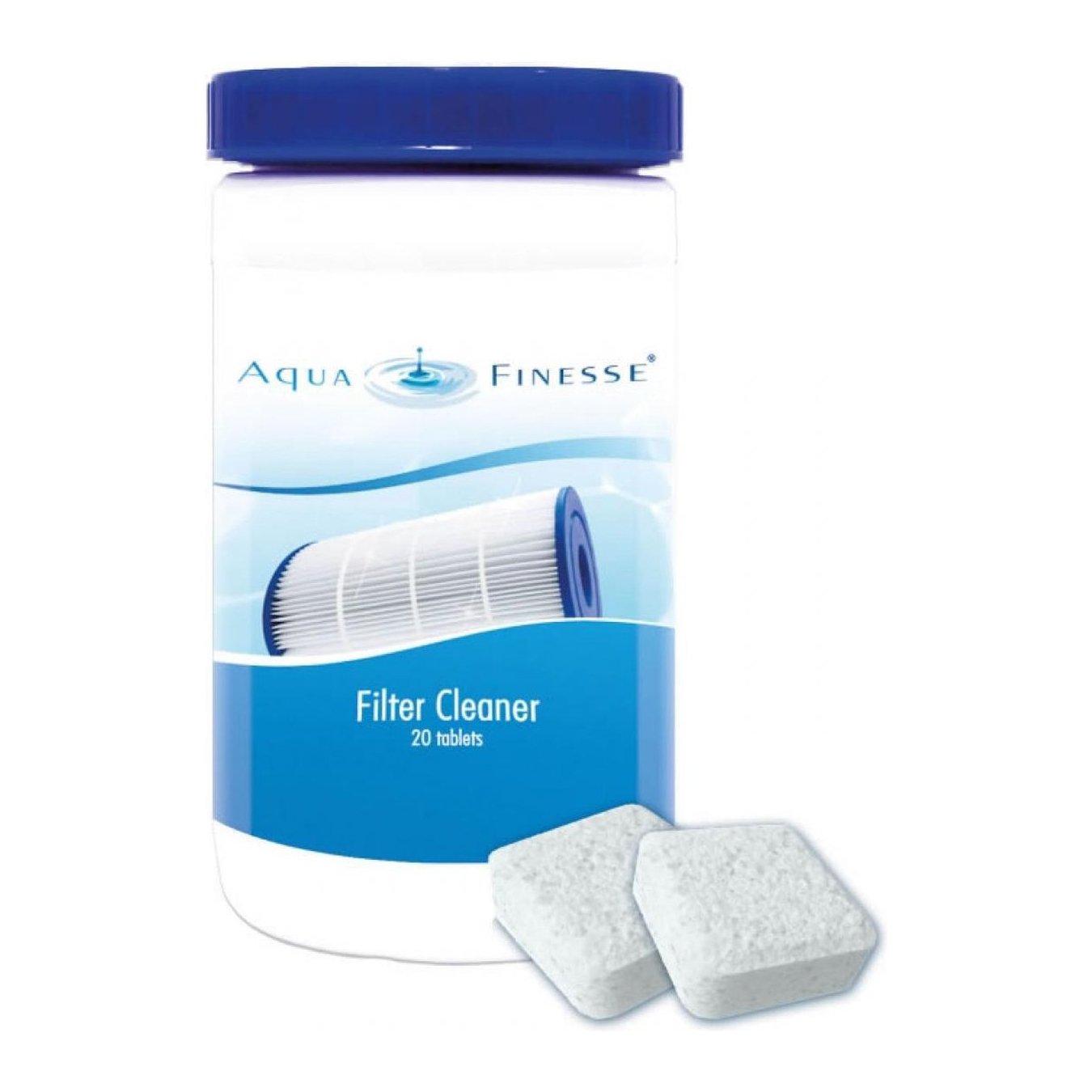 AquaFinesse Filter Reiniger - 20 Tabletten