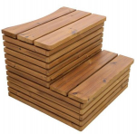 Thermowood deluxe trap voor Hottub